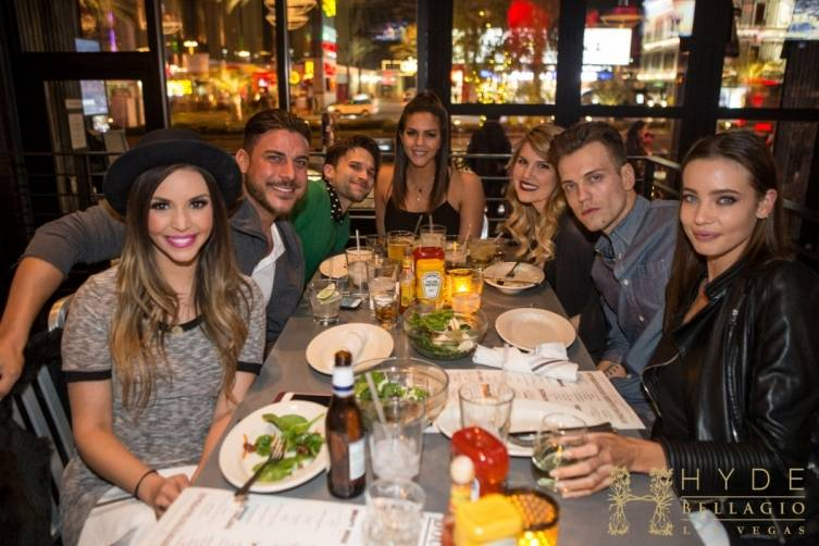 Katie Maloney and friends celebrating at Double Barrel Roadhouse (2)