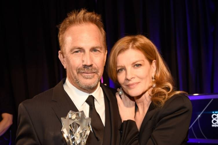 Kevin Costner and Rene Russo