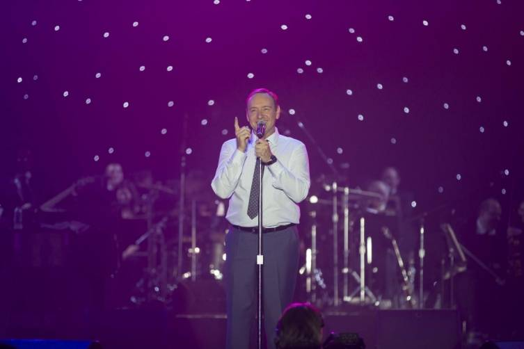 Kevin Spacey performs