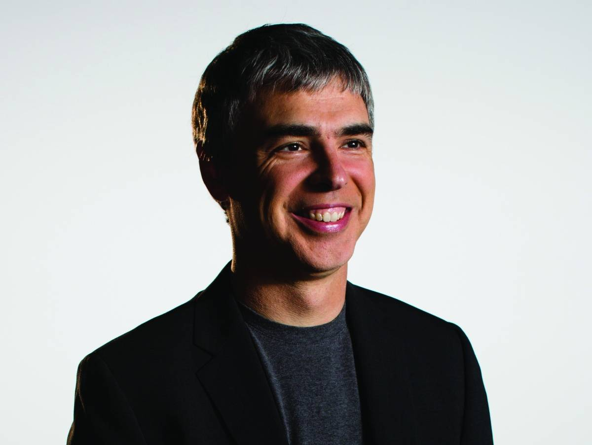 Larry Page, credit Google