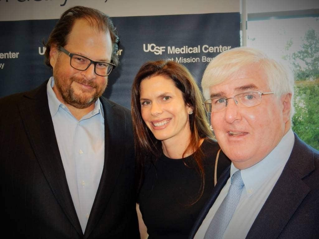 ucsf medical center, marc benioff, lynne benioff, ron conway, dede wilsey