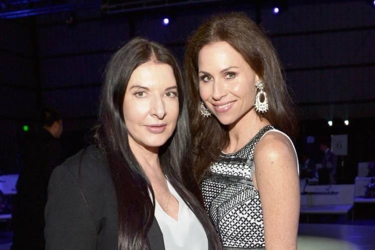 Marina Ambramovic and Minnie Driver at the Art of Elysium Heaven Gala