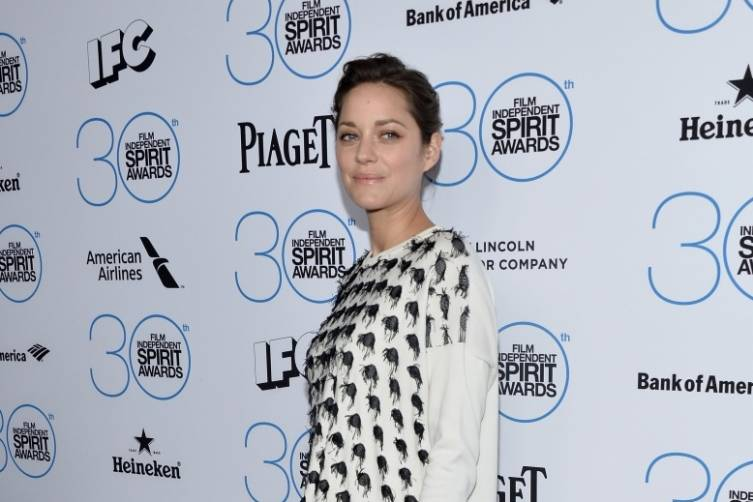 Marion Cotillard attends the  Film Independent Spirit Awards Filmmaker Grant and Nominee Brunch