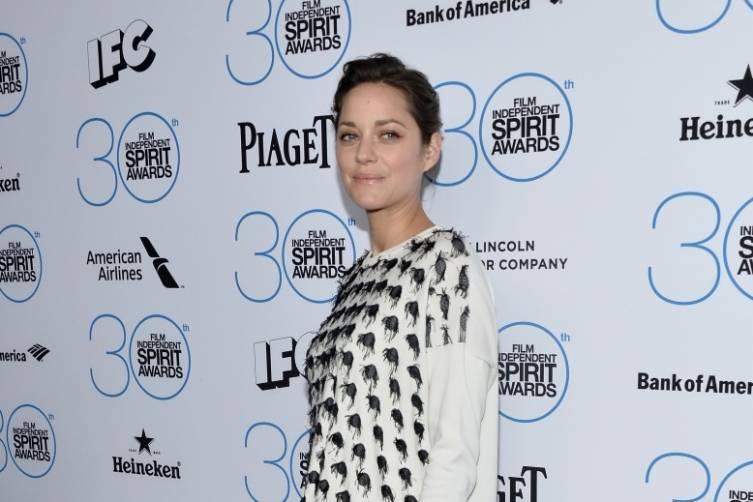 Marion Cotillard attends the  Film Independent Spirit Awards Filmmaker Grant and Nominee Brunch