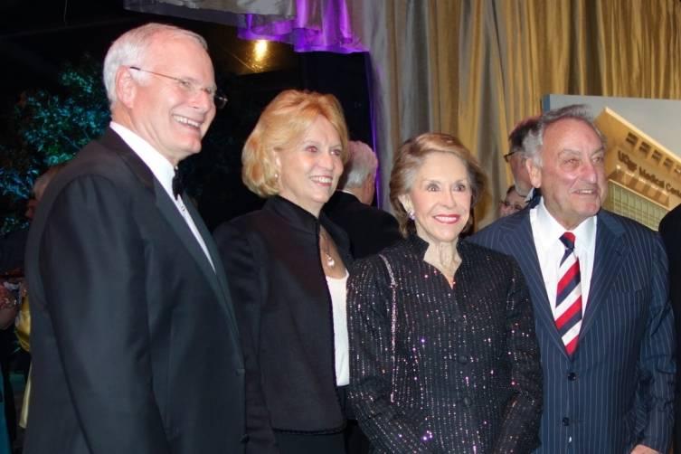 Mark Laret, Jane Laret, Joan Weill and Sandy Weill