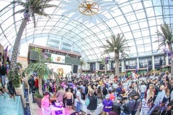 Marquee Dayclub Dome New Year's Day 2015