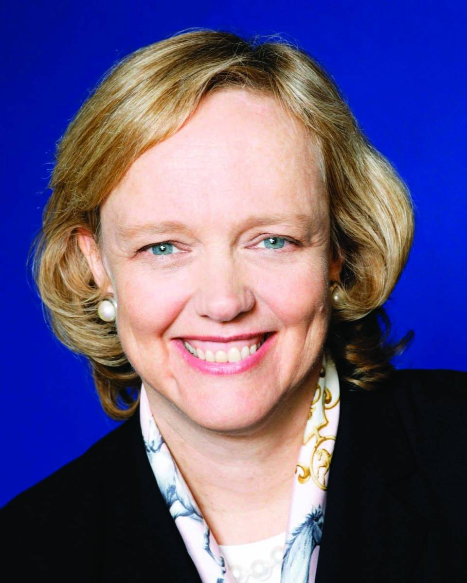 Meg Whitman, credit Hewlett Packard