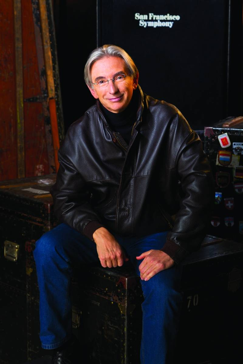 Michael Tilson Thomas, CREDIT Chris Wahlberg