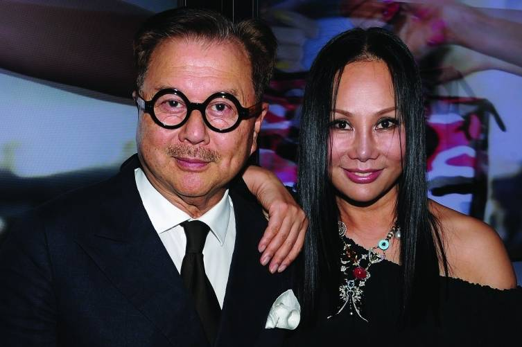 Michael and Eva Chow, Dimitrio sKambouris:WireImage