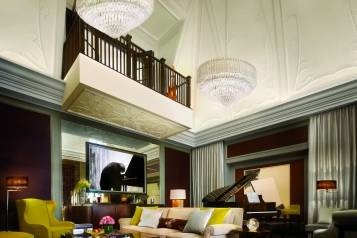 Musicians Penthouse Double Height Lounge Corinthia Hotel London