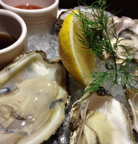 Oysters from Market