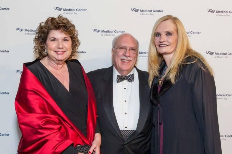 Pam Glogau, Richard Glogau and Beth Townsend