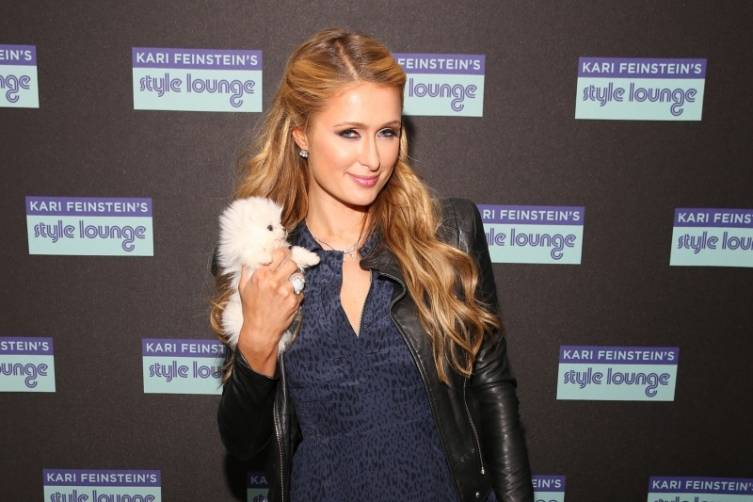Paris Hilton at the Kari Feinstein Style Lounge