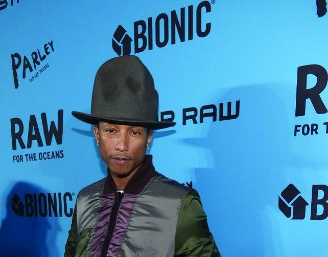 Pharrell Williams, Dimitrios Kambouris:Getty Images for G-Star
