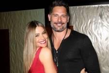 Newly engaged Sofia Vergara and Joe Manganiello ring in the New Year at Planet Hollywood Resort.