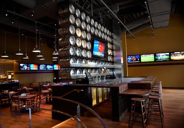 Public House Keg Wall Beer Bar