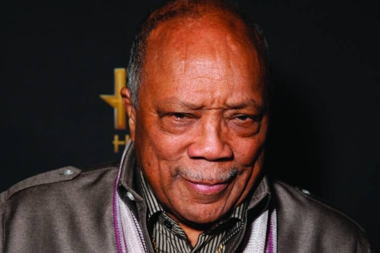 Quincy Jones, credit Carlos Reyes