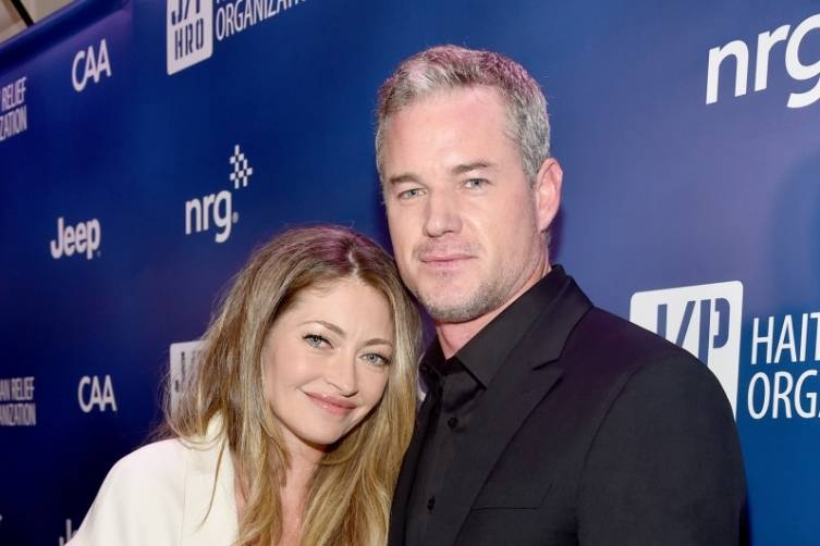 Rebecca Gayheart and Eric Dane  at the Help Haiti Home gala