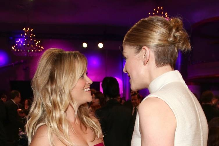 Reese Witherspoon and Rosamund Pike