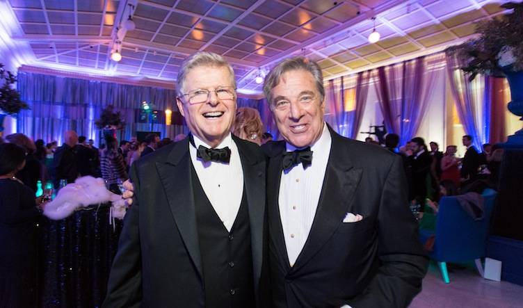 Richard Barker and Paul Pelosi