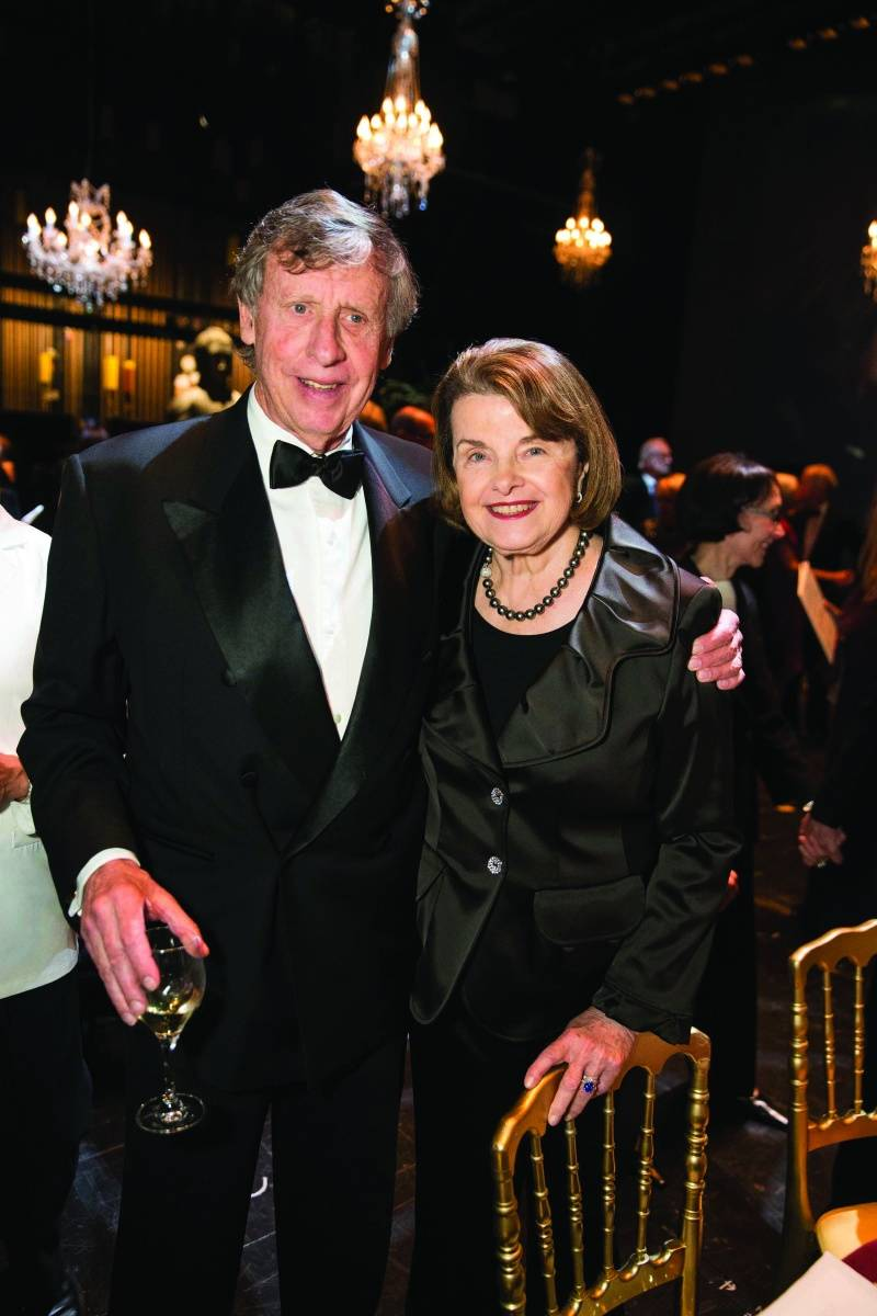 Richard Blum and Dianne Feinstein, credit Drew Altizer Photography