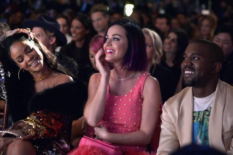 Rihanna, Katy Perry & Kanye West