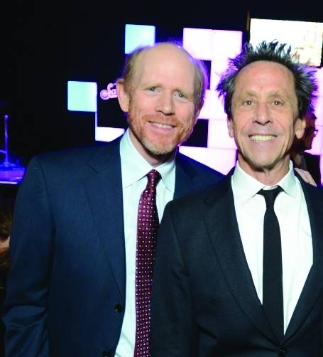 Ron Howard and Brian Grazer,Invision by the Associated Press, Jordan Strauss
