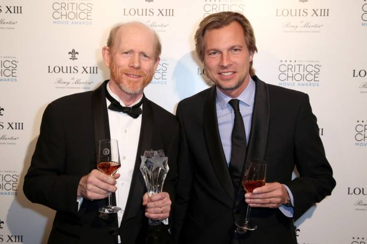 Ron Howard and Louis XIII's Ludovic de Plessis