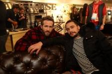 Ryan Reynolds and James Franco hang out at the Variety Studio