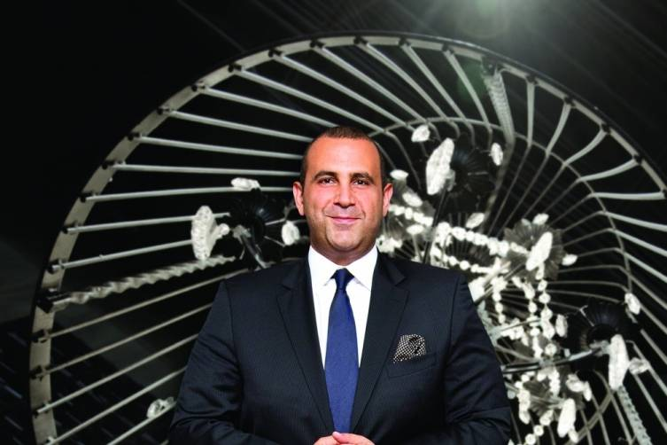 Sam Nazarian, by Sabin Orr
