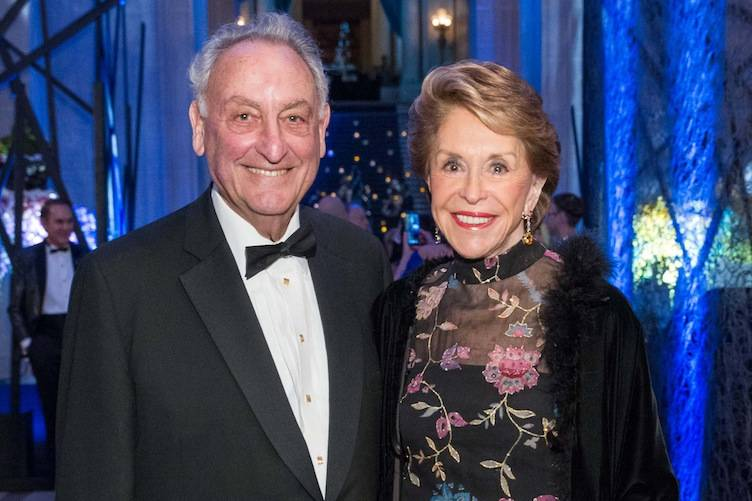 Sandy Weill and Joan Weill