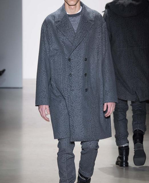 Calvin Klein Collection Fall 2015: menswear. Image via style.com