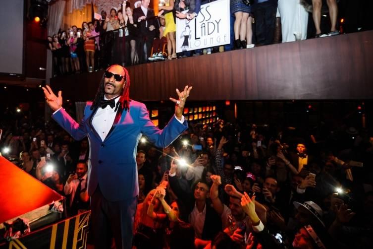 Snoop Dogg at Tao. Photos: Brenton Ho/Powers Imagery