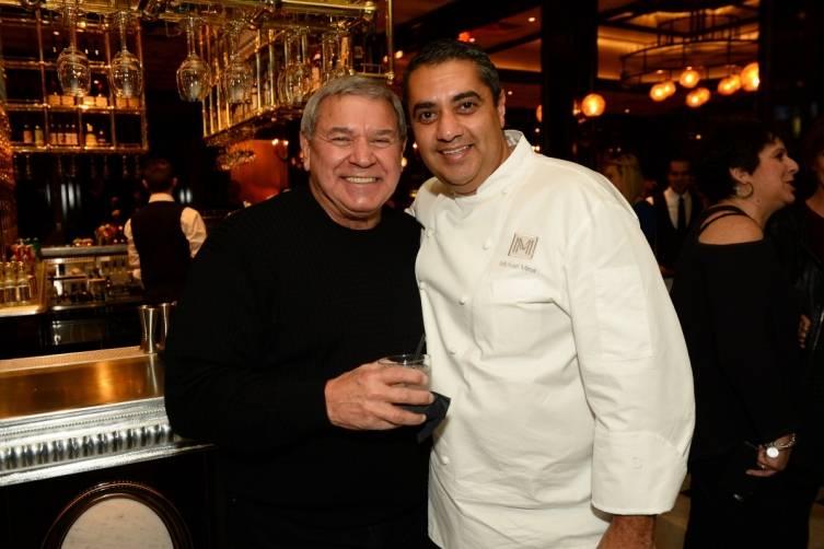 Steve Miller and Chef Michael Mina at BARDOT Opening 1.15.15