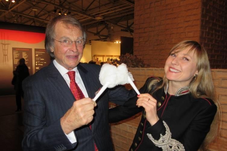 Sven Bruntjen and Paulina Paczkowska