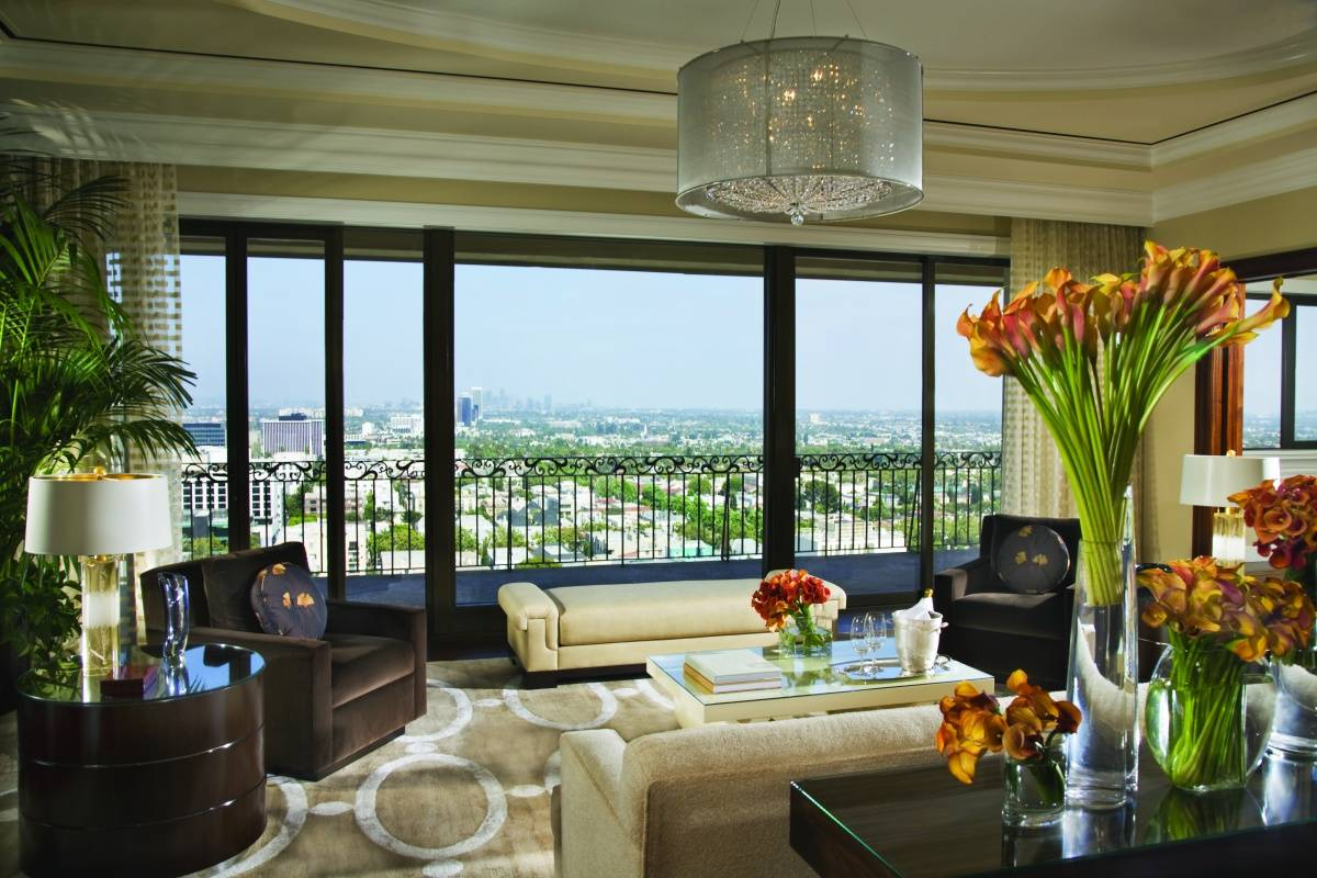 the 5 most expensive hotel suites in los angeles