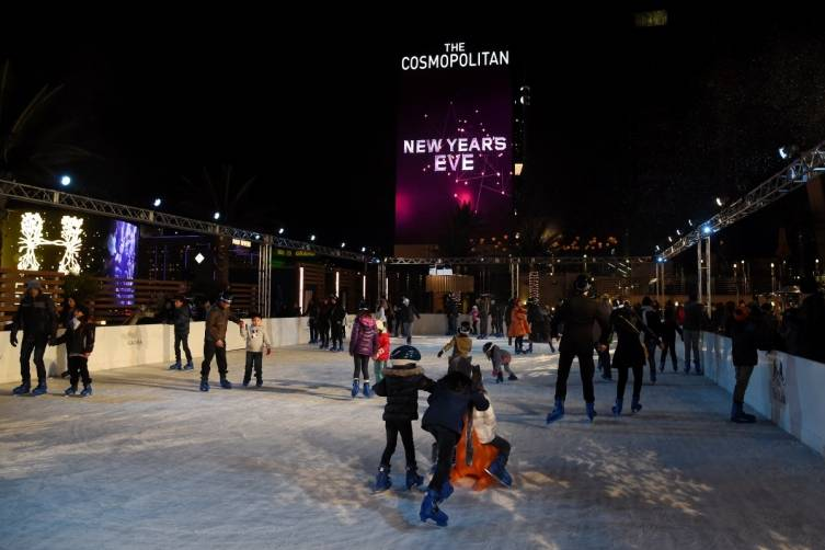 The Ice Rink at The Cosmopolitan of Las Vegas_NYE_Miller_1