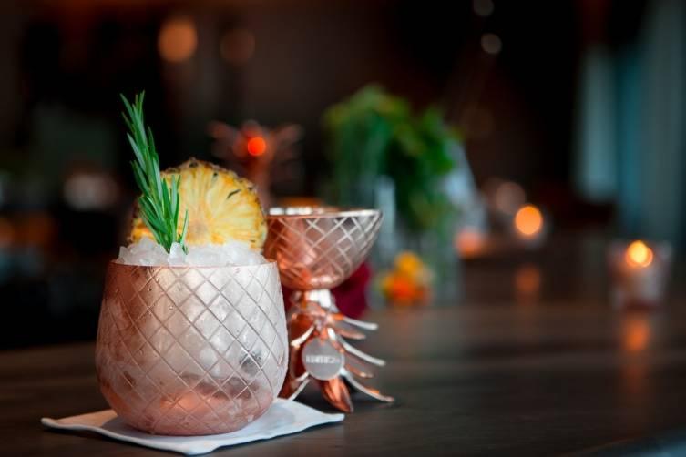 Matador Bar's Famous Pineapple cocktail