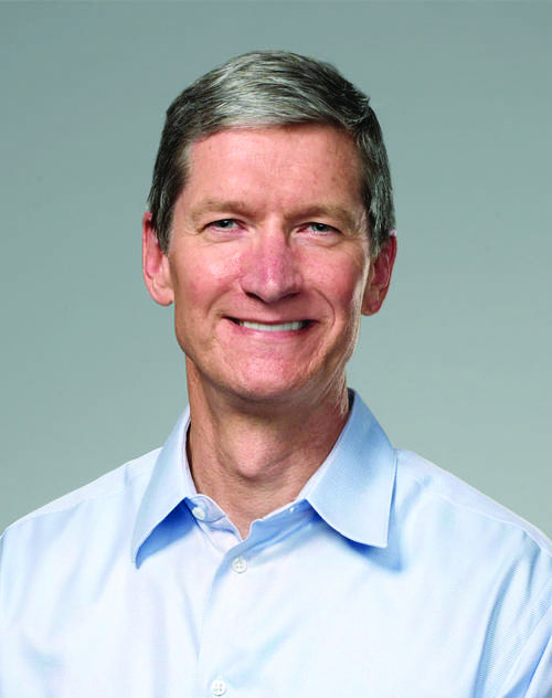 Tim Cook, credit Apple Inc. (credit must appear next to photo)