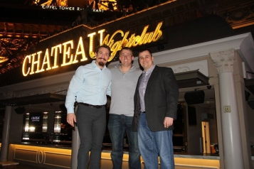Tim Kennedy with Dakota Meyer and Friend at Chateau Nightclub Courtesy of Chateau