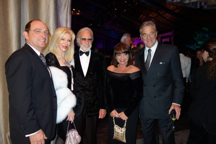 Tom Klein, Pamela Deikel, Ted Deikel, Barbara Klein and Paul Pelosi
