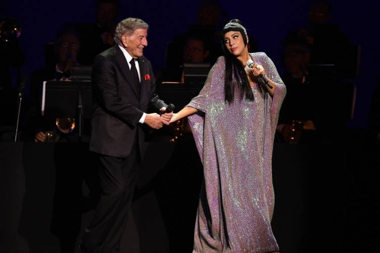 Tony Bennett and Lady Gaga perform at The Cosmopolitan_NYE_Miller_1