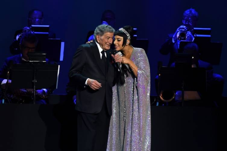 Tony Bennett and Lady Gaga perform at The Cosmopolitan_NYE_Miller_2