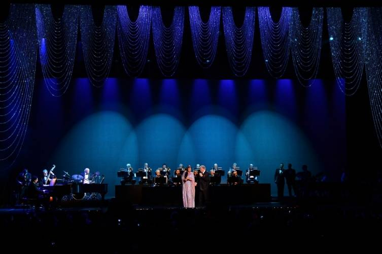Tony Bennett and Lady Gaga perform at The Cosmopolitan_NYE_Miller_5