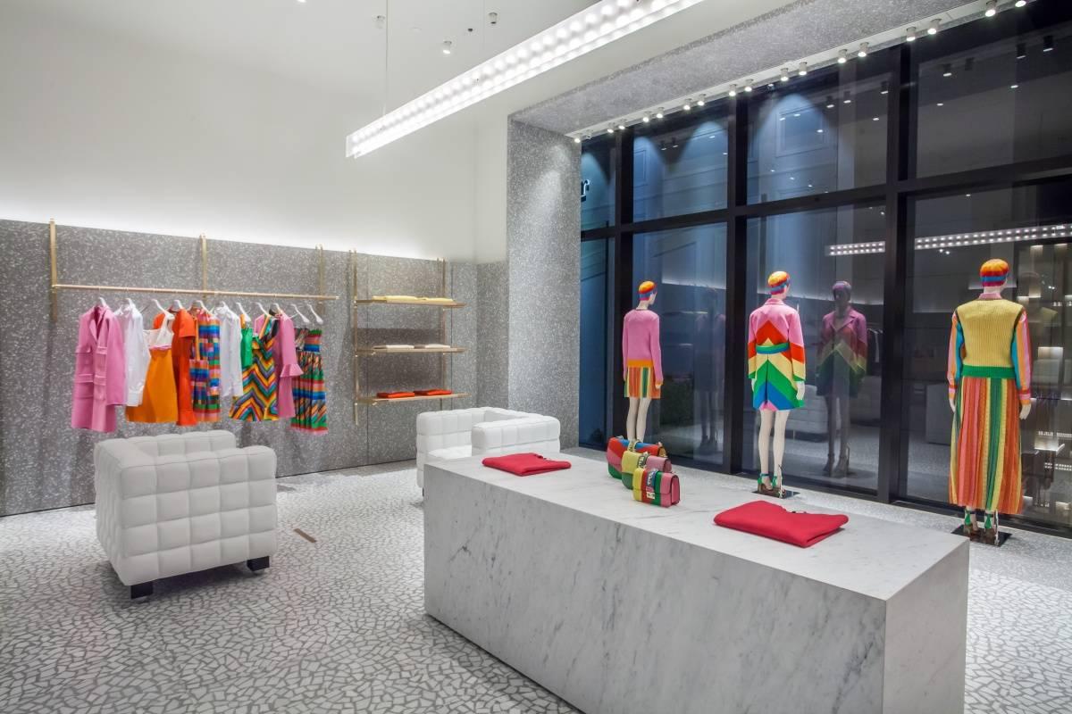 Valentino Unveils Three Story Mega Boutique In Miami S Design District