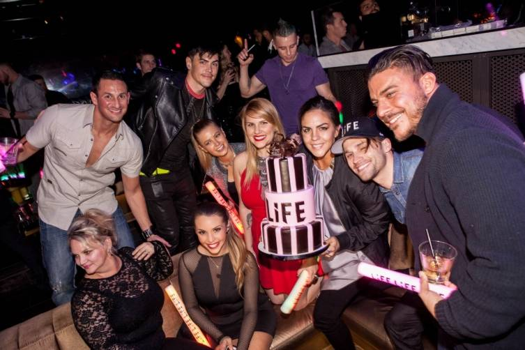 Vanderpump Rules cast celebrates at LiFE (2)
