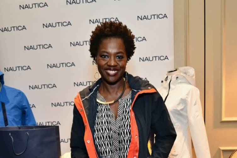 Viola Davis in Nautica at the HBO Luxury Lounge