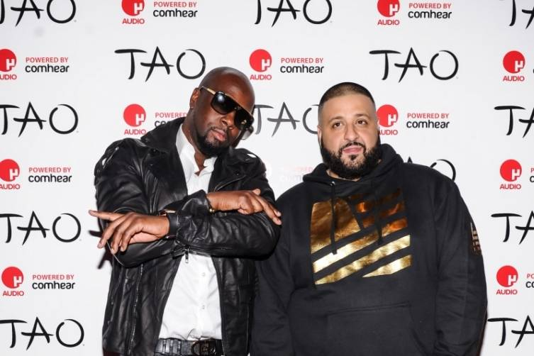 Wyclef Jean_DJ Khaled_TAO_red carpet