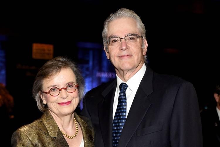 Judge Cindy Lederman and Robert Lederman by Yamila Lomba
