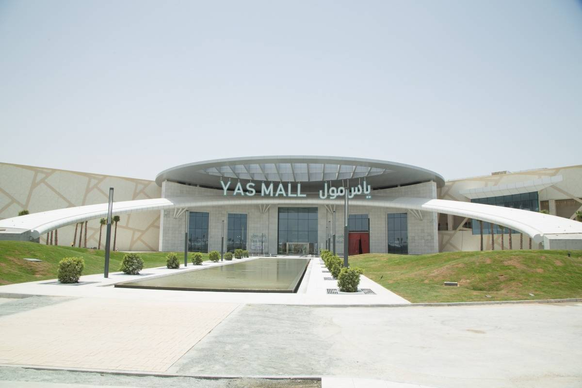 yas mall becoming a leading retail destination. Black Bedroom Furniture Sets. Home Design Ideas